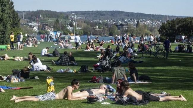 Sot ishte dita më e ngrohtë e këtij viti në Zvicër