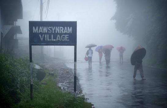 Vendet më me së shumti reshje të shiut dhe erëra në tokë