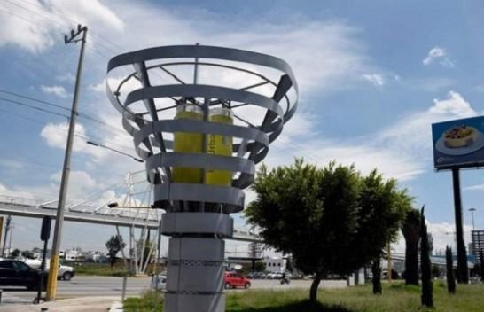 Meksika lufton ndotjen e ajrit me pemë artificiale