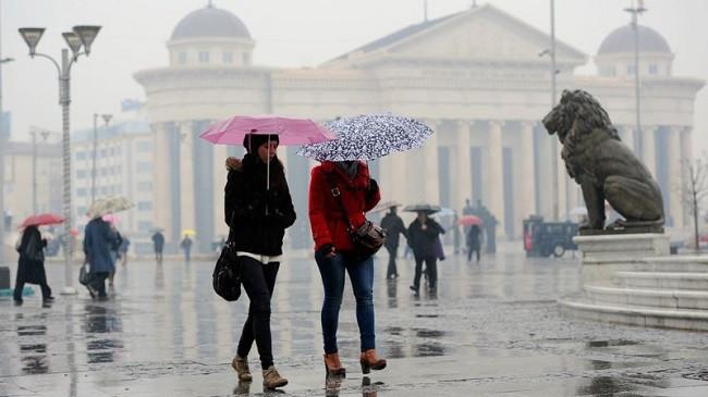 Fundjava me shi në Maqedoninë Veriore