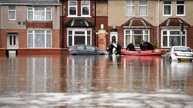 Në foto: Shiu përmbyt pjesën veriore të Anglisë