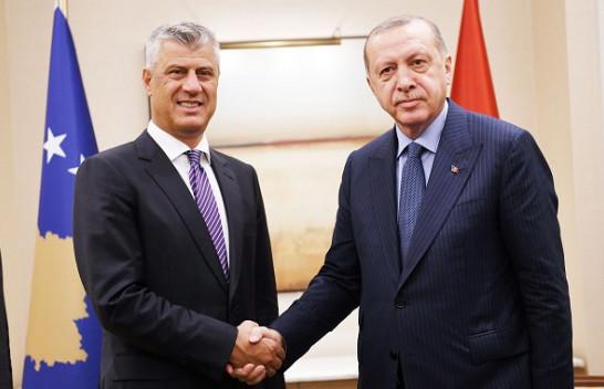 Thaçi: Kosova e gatshme të dërgoj ndihma të menjëhershme pas tërmetit në Turqi