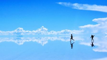 Aty ku Toka dhe Qielli bashkohen [Foto]