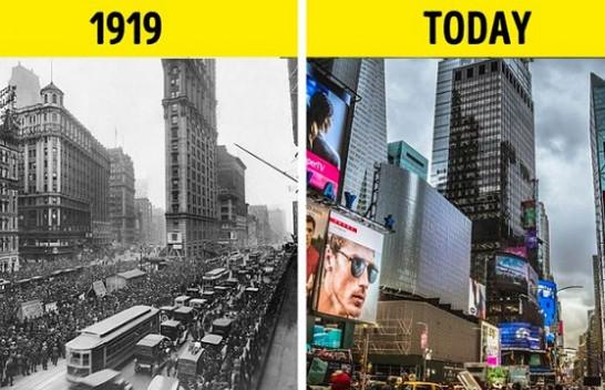 20 fotografi që tregojnë se sa ka ndryshuar bota në 100 vitet e fundit