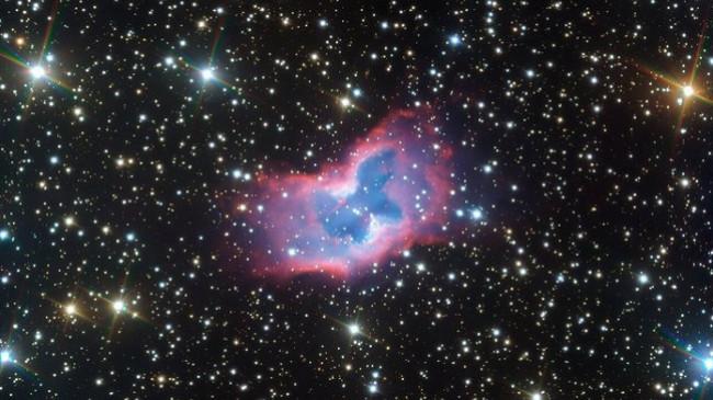Fotografohet një 'flutur' kozmike