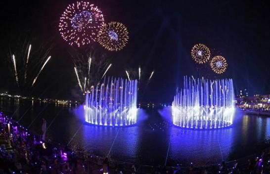 Pamje spektakolare/ Dubai thyen rekordin për shatërvanin më të madh në botë
