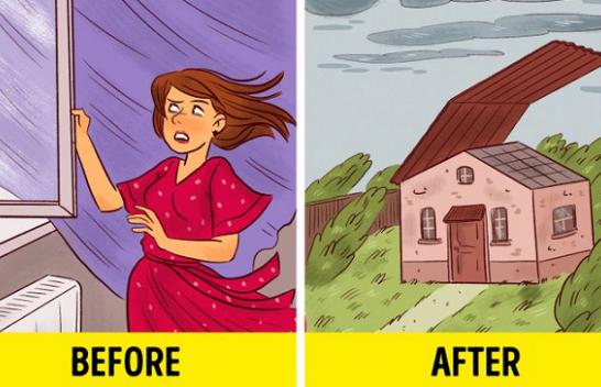 12 gjëra që nuk duhet t'i bëni gjatë një stuhie