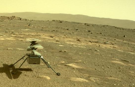 Helikopteri i NASA-s kap pamje të një minitornado në Mars