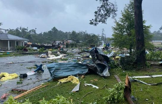 Stuhia tropikale Claudette godet SHBA-të
