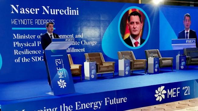 Nuredini: Kemi synime ambicioze kombëtare për të zvogëluar ndikimin e ndryshimeve klimatike