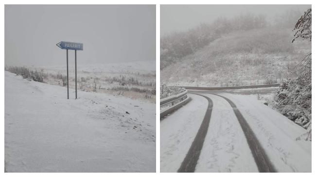 Bora zbardhë Qarkun e Korçës [Foto]